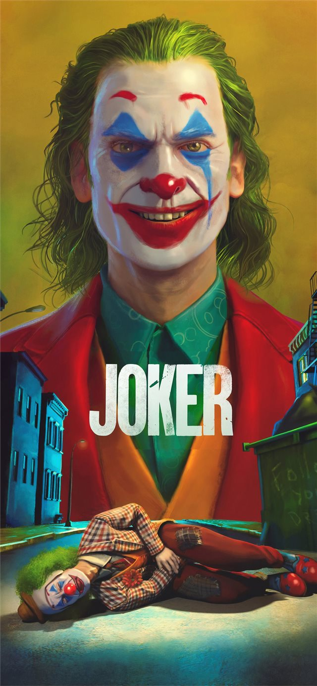 joker movie4k art iPhone X wallpaper