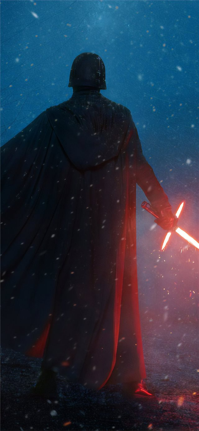 kylo ren cosplay iPhone X wallpaper