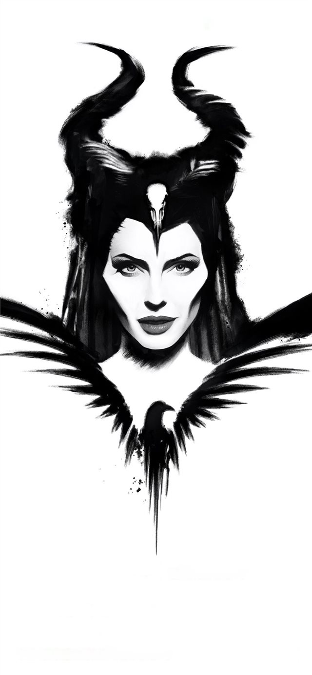 maleficent mistress of evil poster 4k iPhone X wallpaper