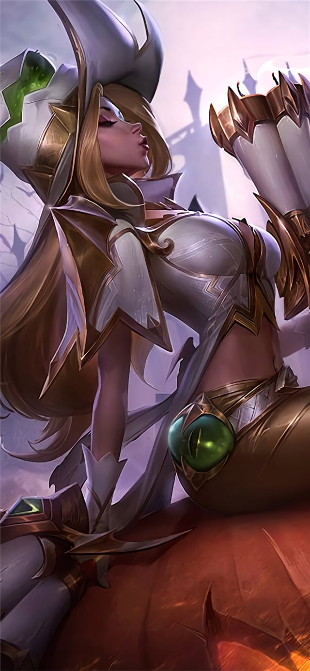 miss fortune league of legends fantasy 4k iPhone 11 wallpaper