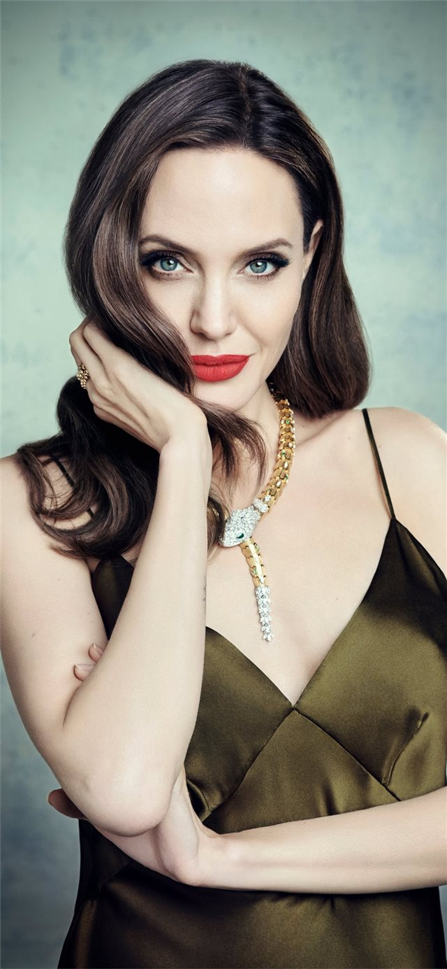 angelina jolie 4k 2019 new iPhone X wallpaper