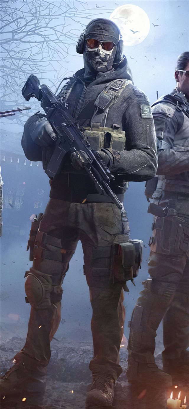 call of duty mobile 2019 game iPhone X wallpaper