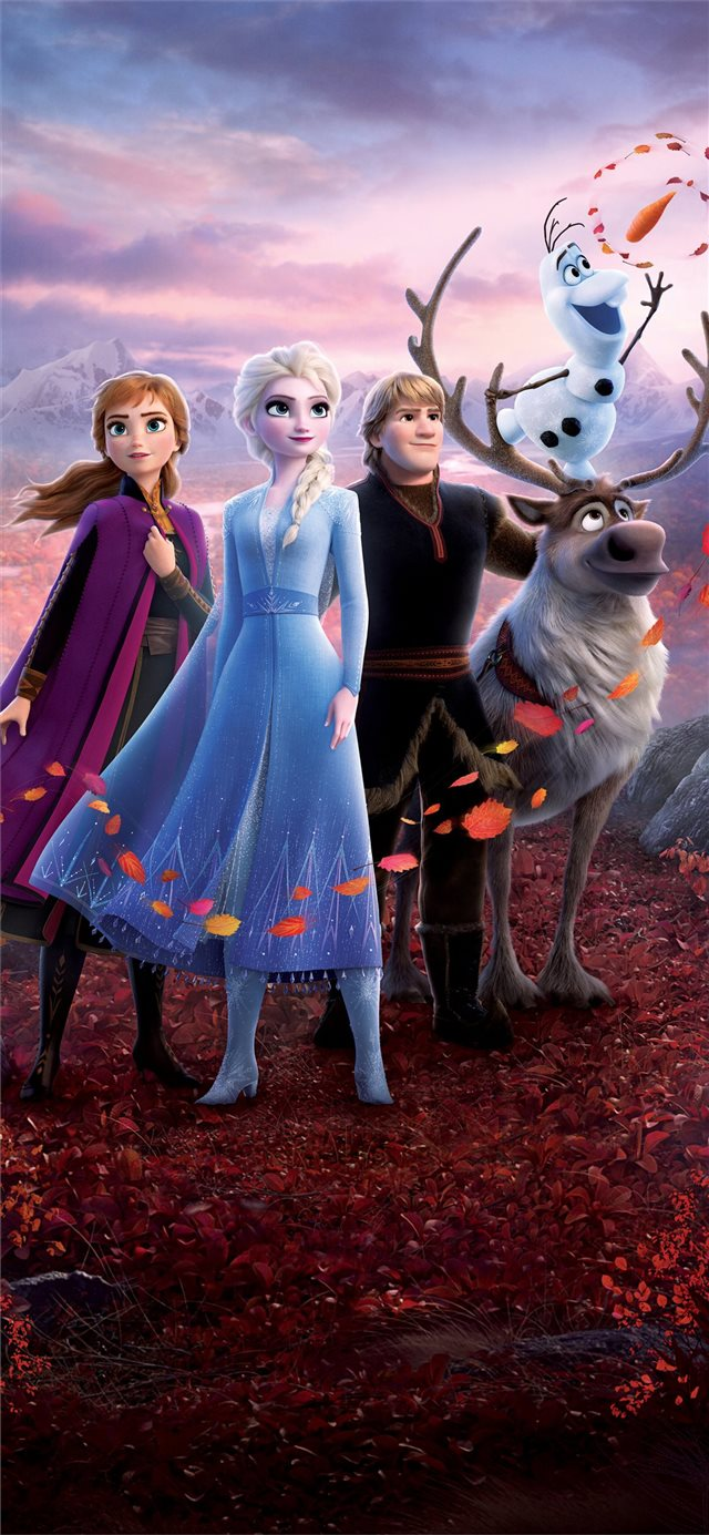 frozen 2 2019 5k movie iPhone X wallpaper