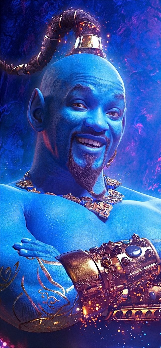 genie will smith iPhone X wallpaper