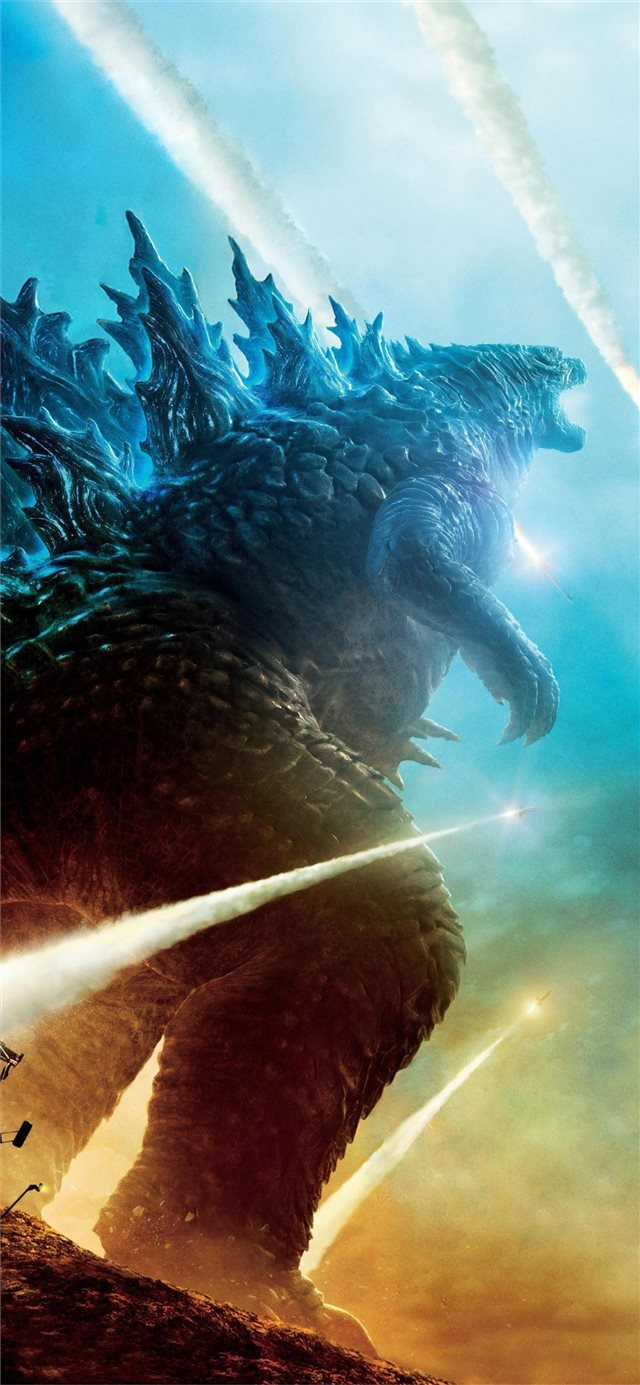 godzilla king of the monsters movie 4k iPhone X wallpaper