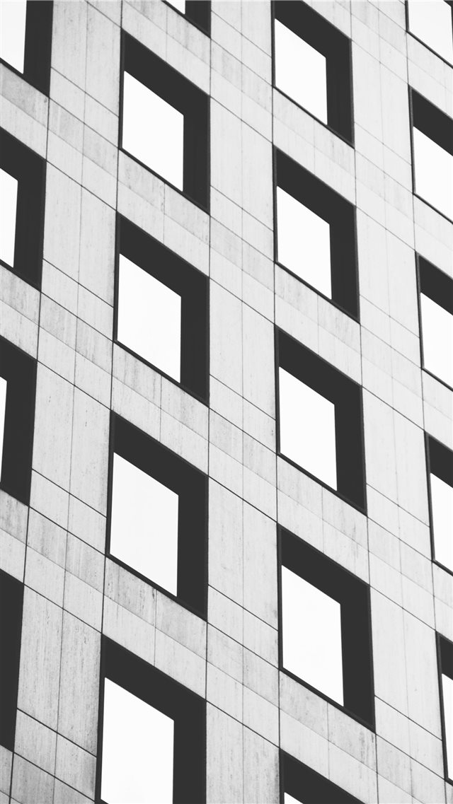 gray building iPhone SE wallpaper