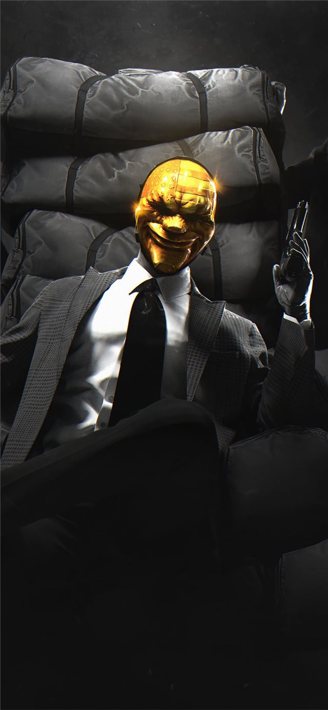 payday gold crew iPhone 11 wallpaper