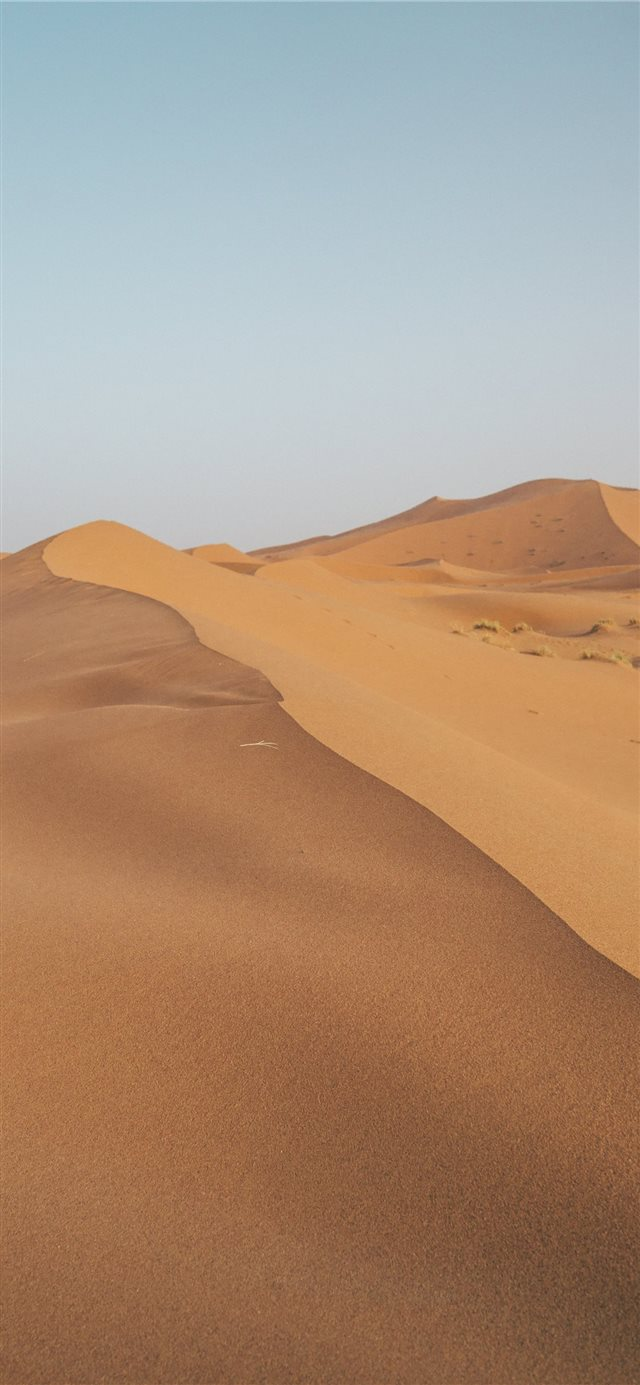 Sahara Desert in Morocco iPhone X wallpaper