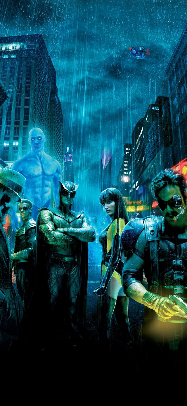 watchmen iPhone 11 wallpaper