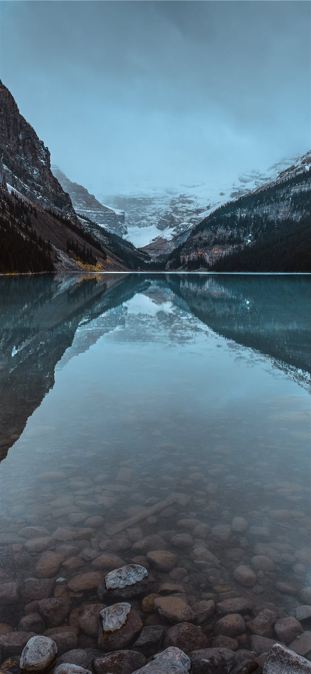 calm body of water iPhone 11 wallpaper