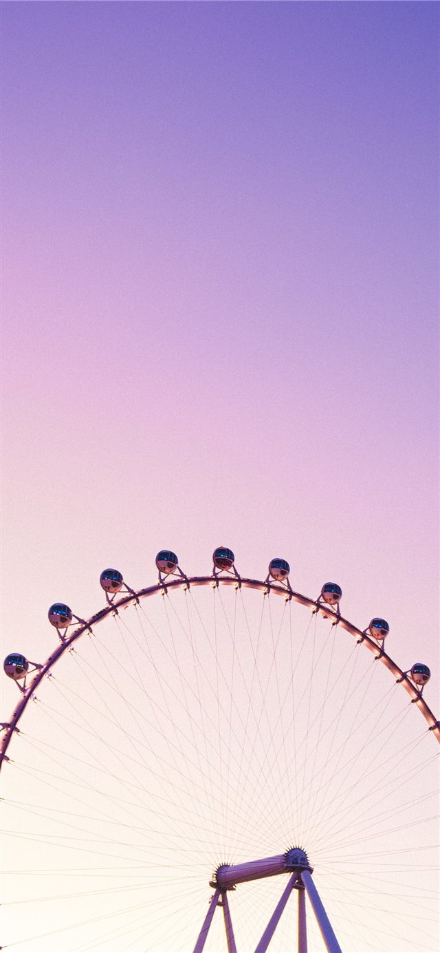 Ferris wheel iPhone X wallpaper