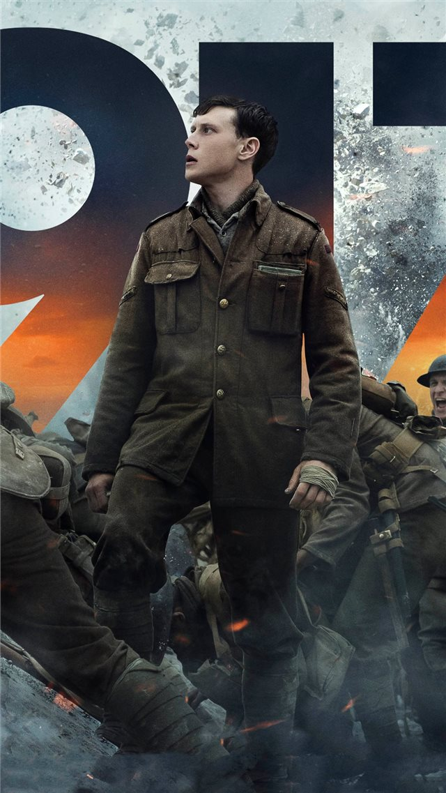 1917 movie 2020 iPhone SE wallpaper