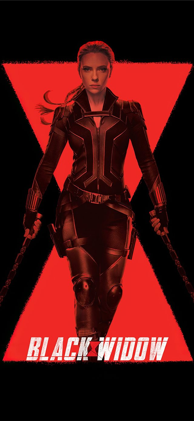 black widow 4k 2020 iPhone 11 wallpaper