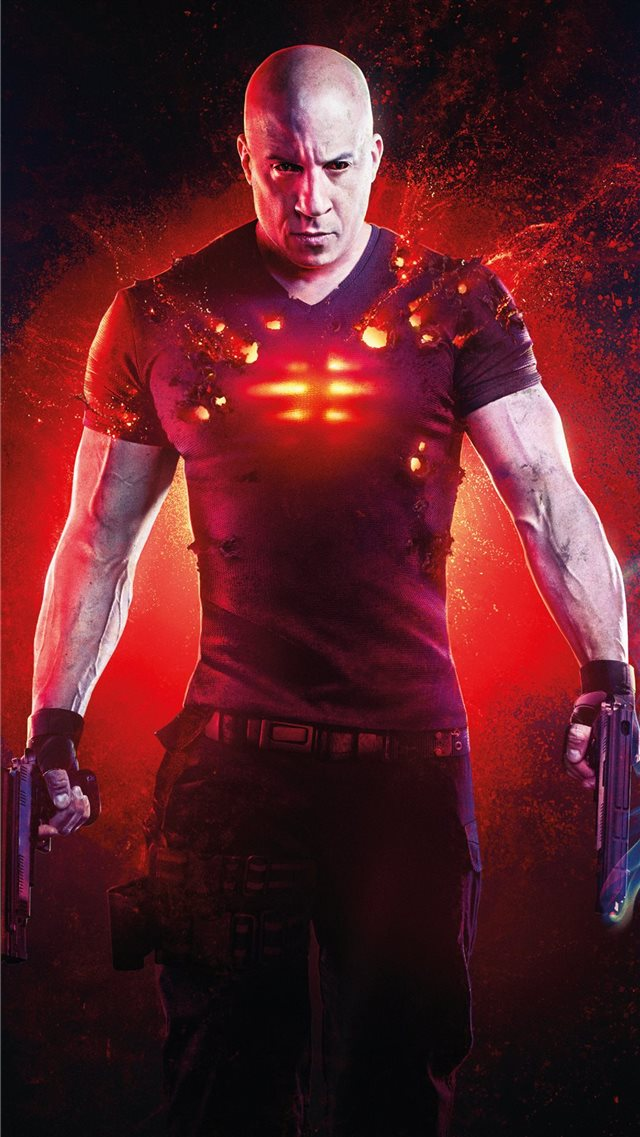 bloodshot 2020 4k iPhone 8 wallpaper