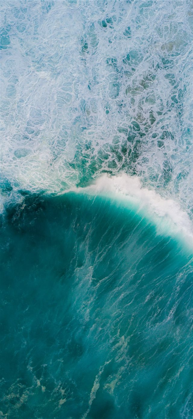 calm ocean iPhone X wallpaper
