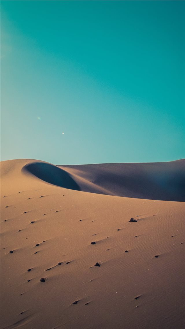 desert during day iPhone SE wallpaper