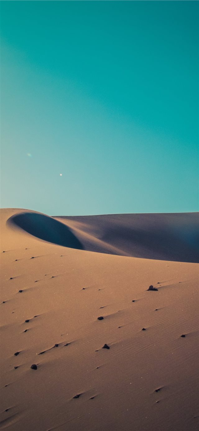 desert during day iPhone X wallpaper