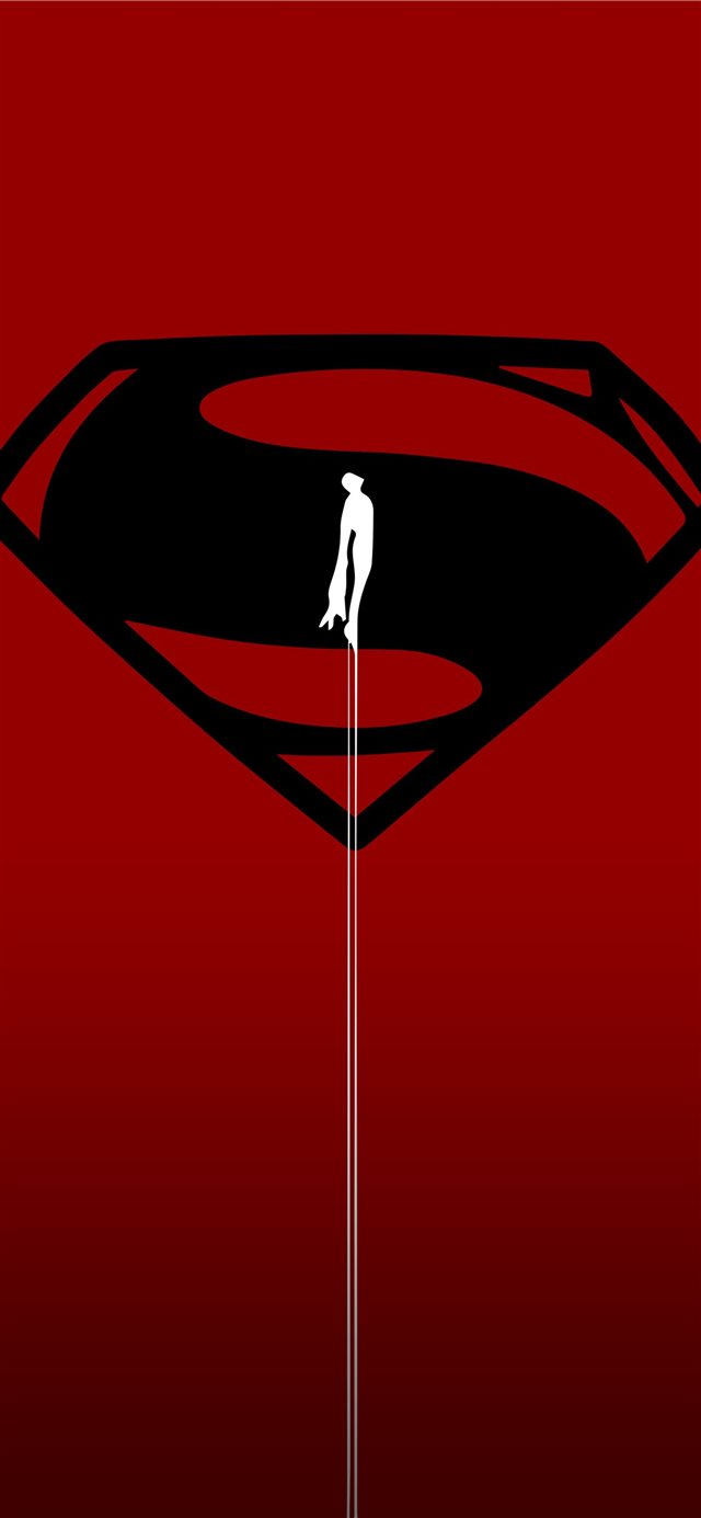 Download Man Of Steel Gallery iPhone 11 wallpaper