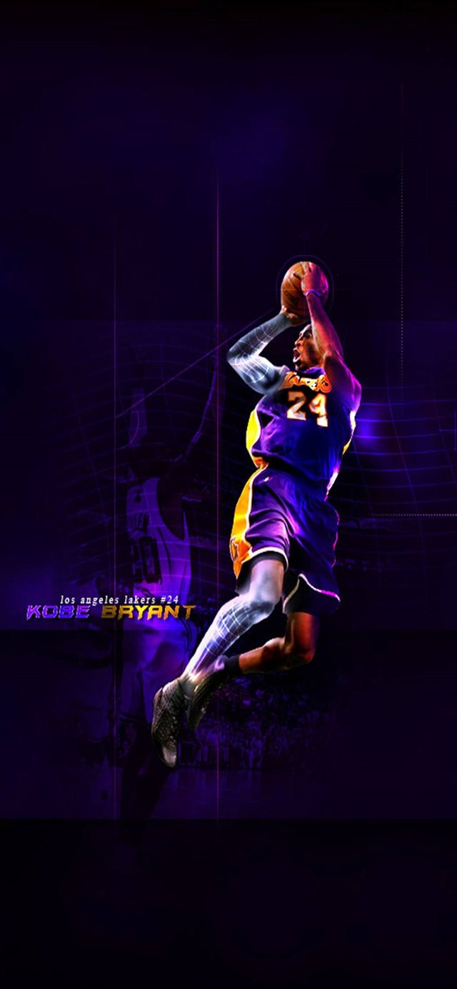 kobe bryant iPhone X wallpaper