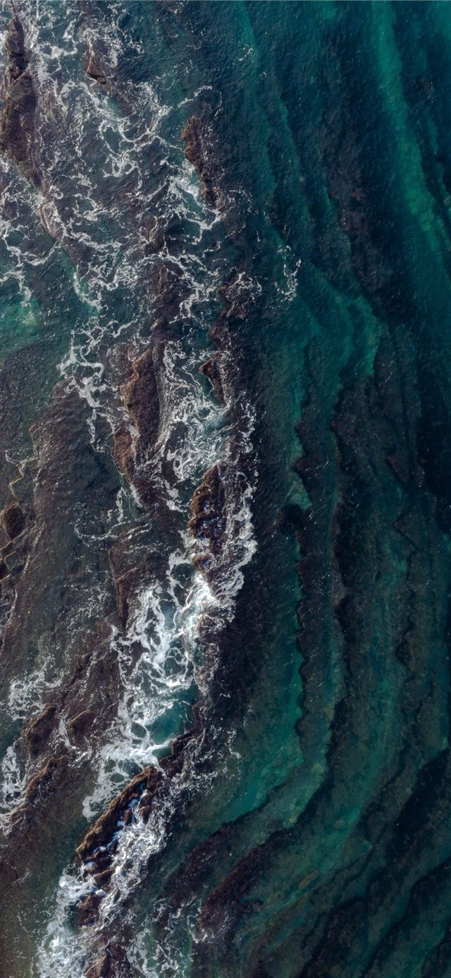 seashore iPhone X wallpaper