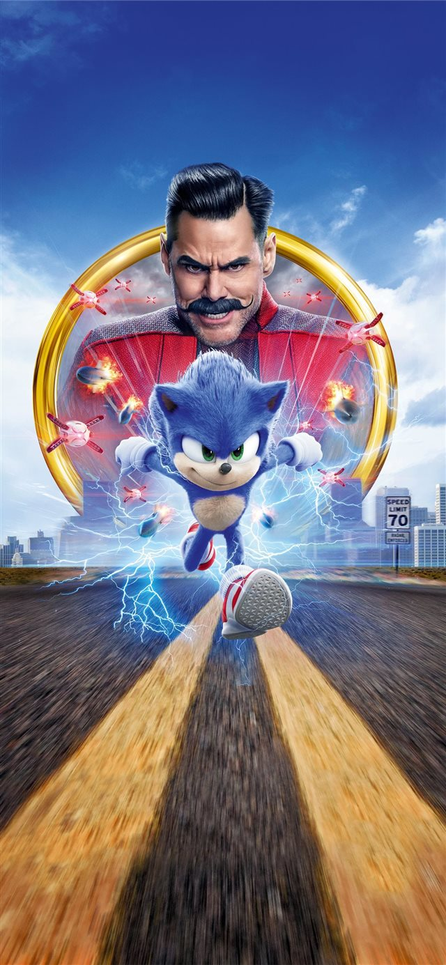 sonic the hedgehog 2020 15k iPhone X wallpaper