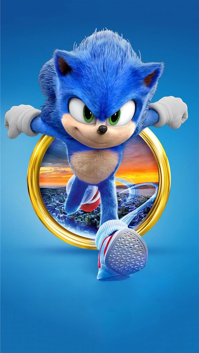 sonic the hedgehog 2020 4k iPhone 8 wallpaper