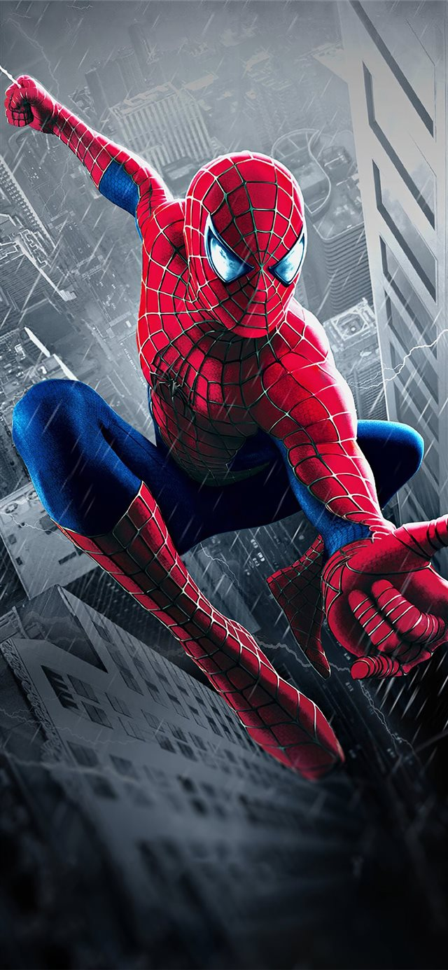 spiderman 2002 iPhone X wallpaper