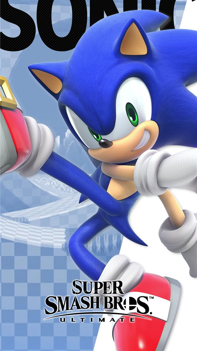 Super Smash Bros Ultimate Sonic Wallpapers iPhone SE wallpaper