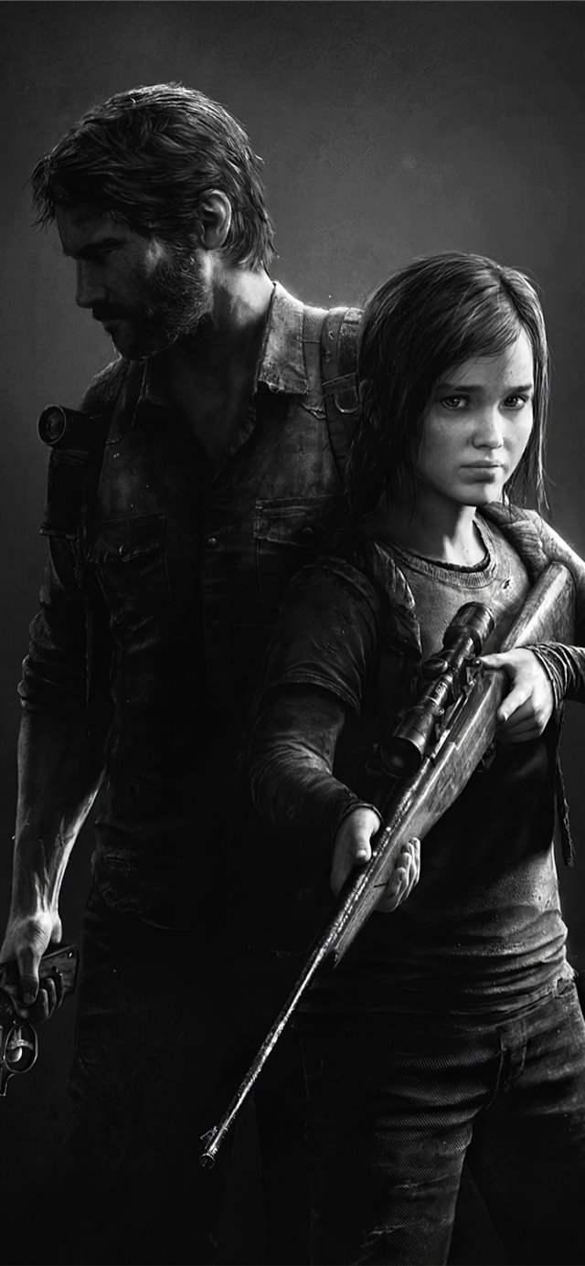 the last of us remastered game 4k iPhone X wallpaper