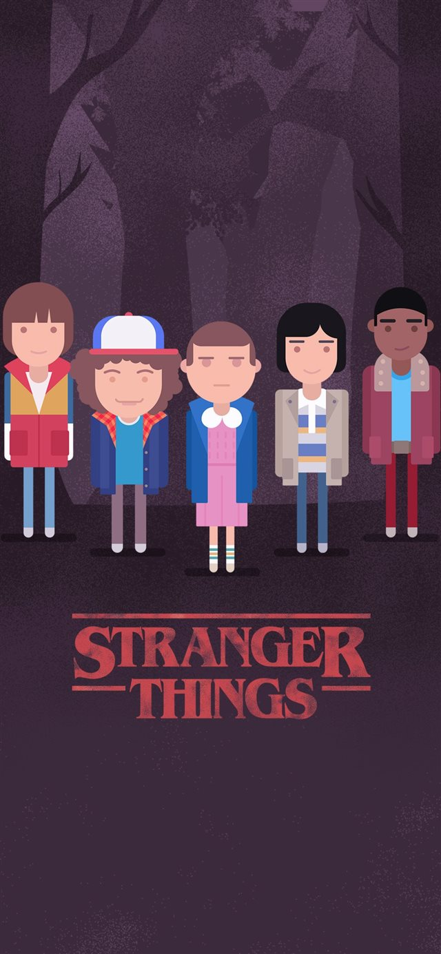 1125x2436 Stranger Things Minimalism 4k 10 HD 4k W... iPhone X wallpaper