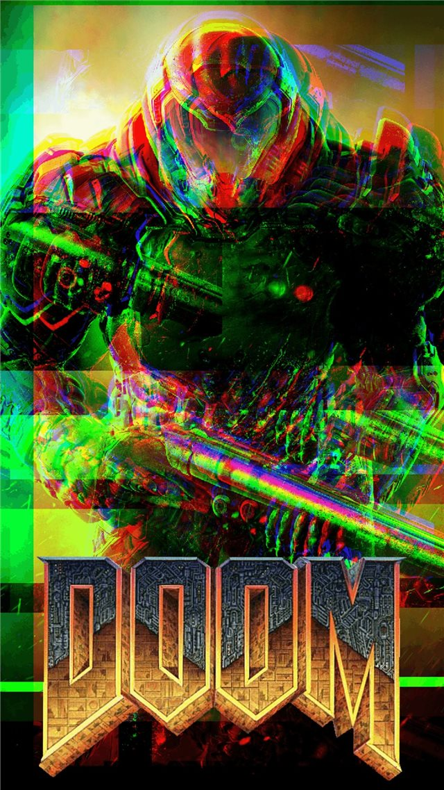 7680 Doom Slayer Top Free 7680 Doom Slayer Backgro... iPhone 8 wallpaper