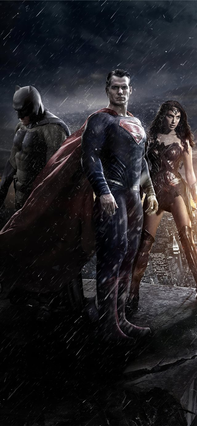 batman v superman movie poster iPhone 11 wallpaper