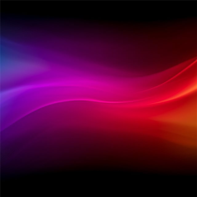 blue purple red yellow waves 4k iPad Pro wallpaper