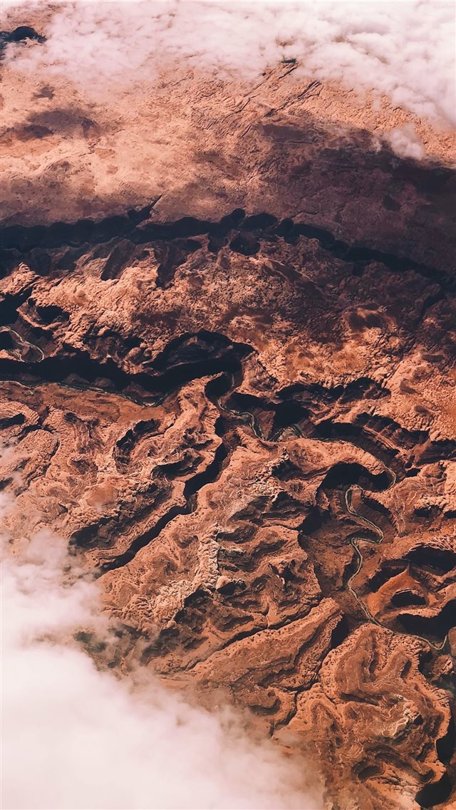 brown and black abstract painting iPhone 8 wallpaper