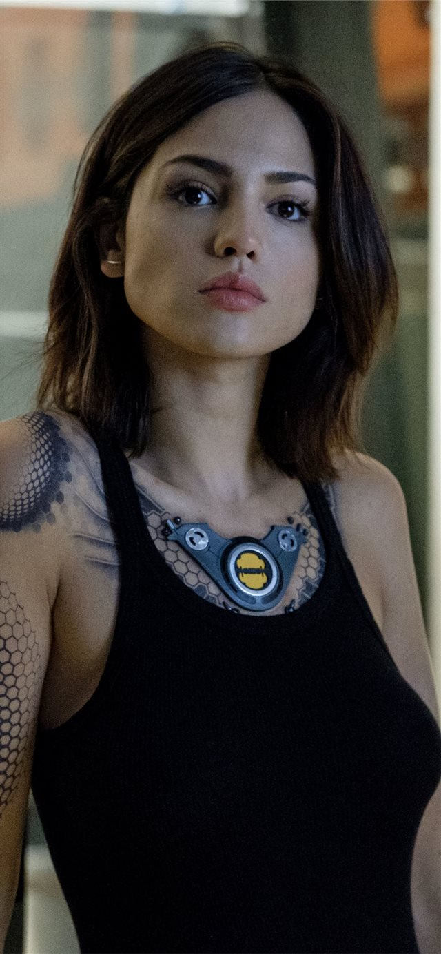 eiza gonzalez bloodshot 5k 2020 movie iPhone X wallpaper