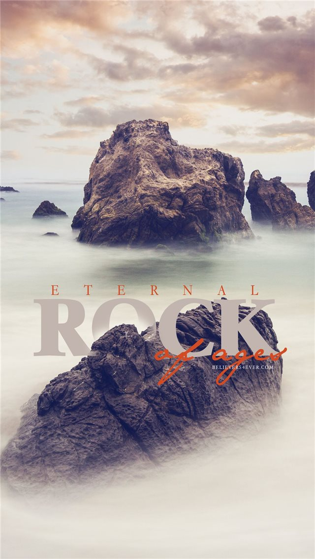 Eternal rock of ages iPhone 8 wallpaper