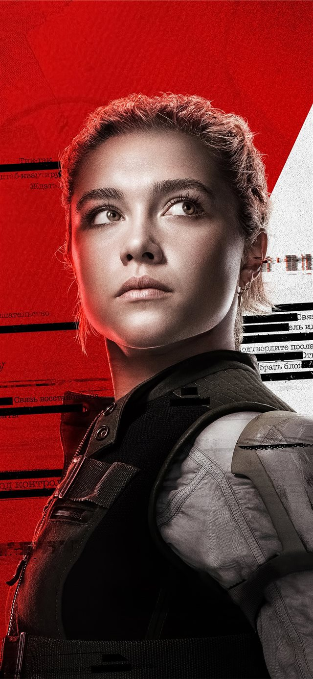 florence pugh as yelena belova in black widow 2020 iPhone X wallpaper