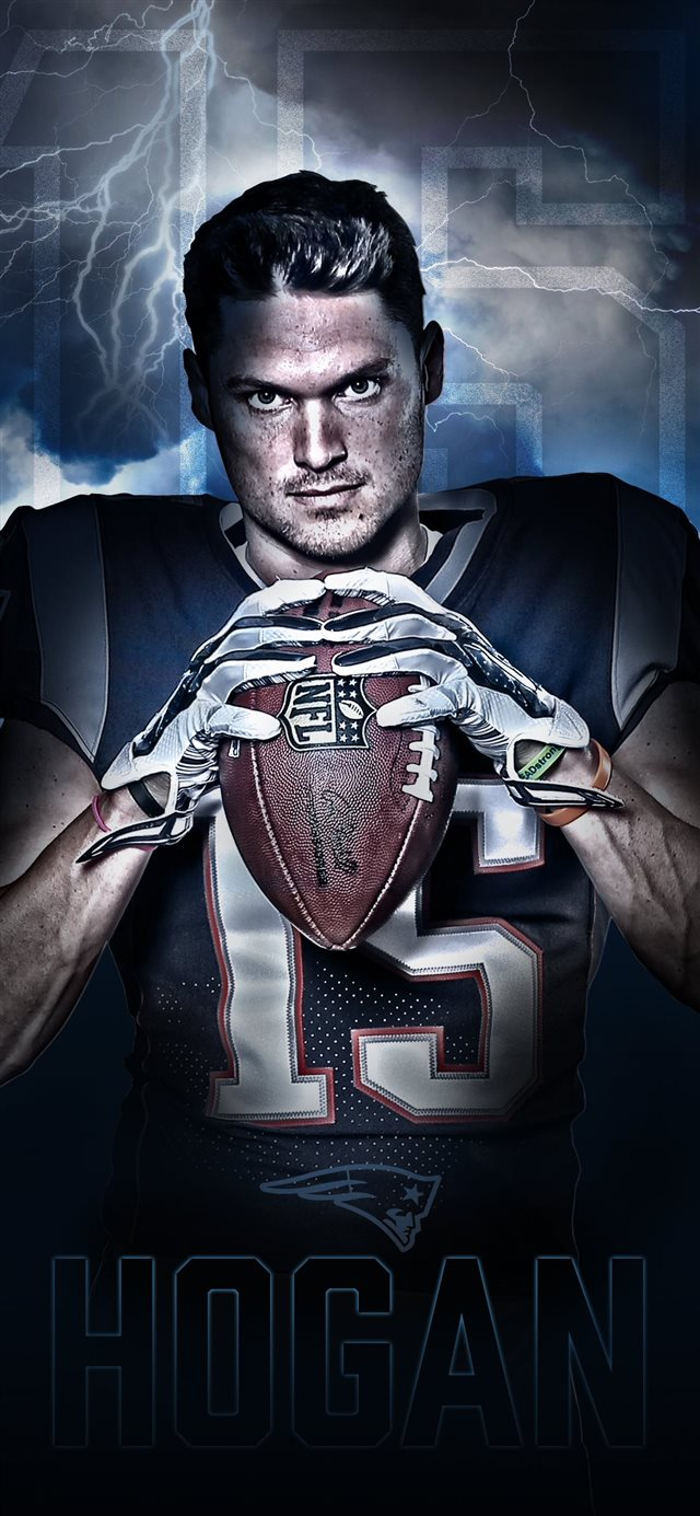 Official website of the New England Patriots iPhone X wallpaper
