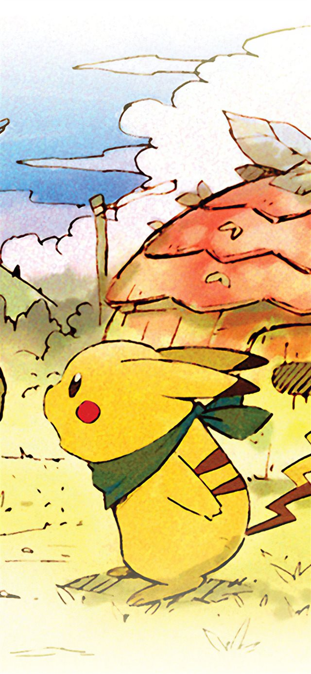 pokemon mystery dungeon 4k iPhone 11 wallpaper