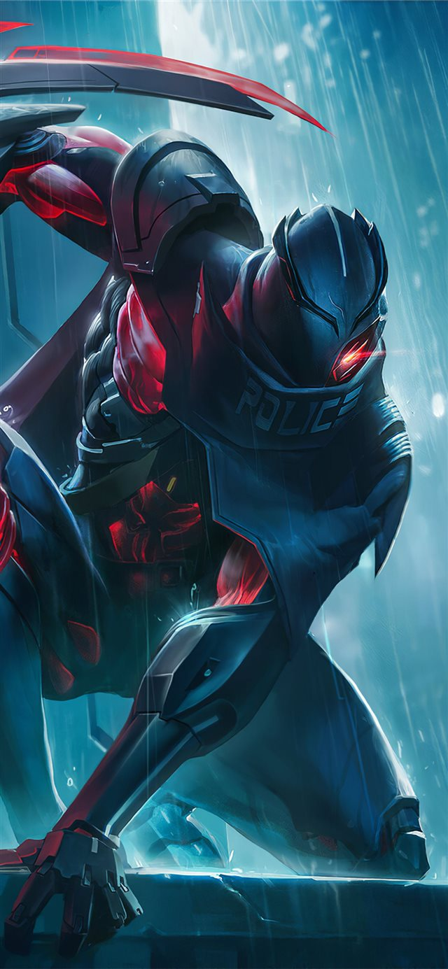 quillen arena of valor iPhone X wallpaper