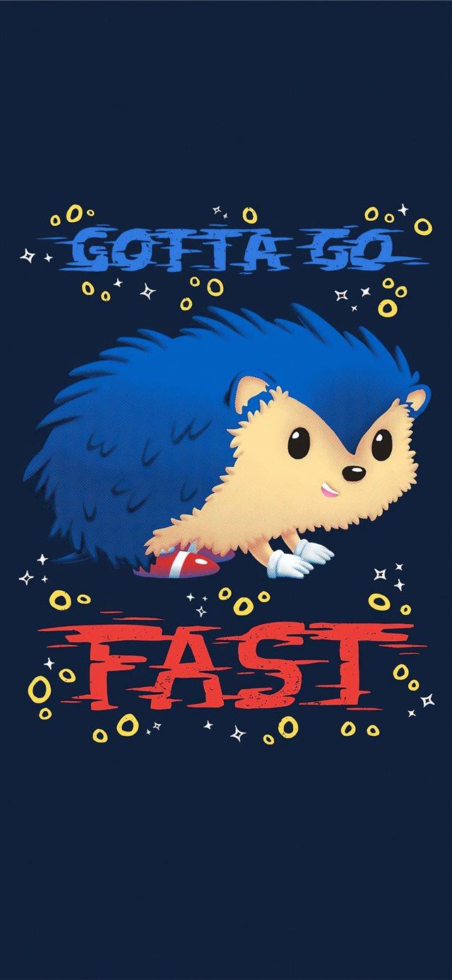 Sonic The Hedgehog Minimal Art 4k Iphone X Wallpapers Free Download