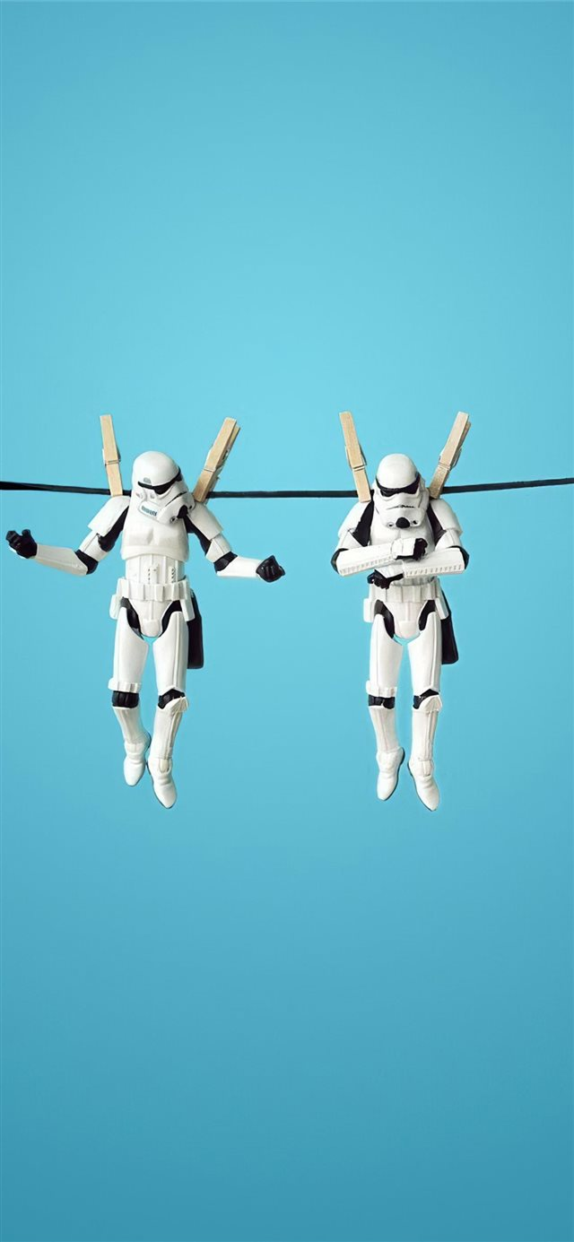 stormtrooper funny 4k iPhone 11 wallpaper