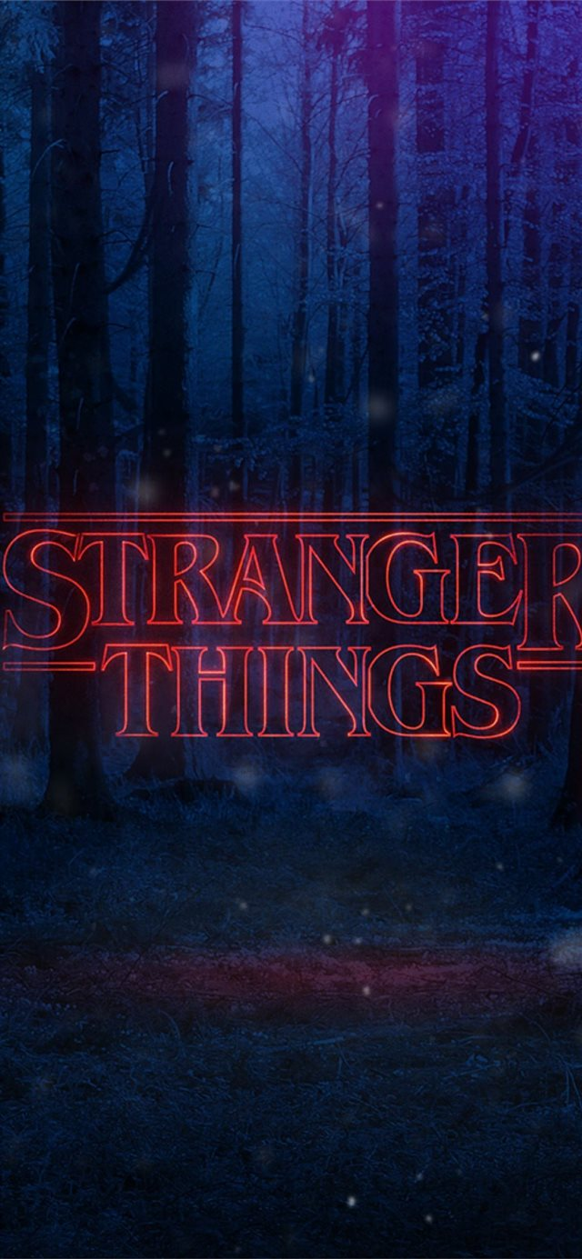 Stranger Things Aesthetic Top Free Stranger Things... iPhone 11 wallpaper