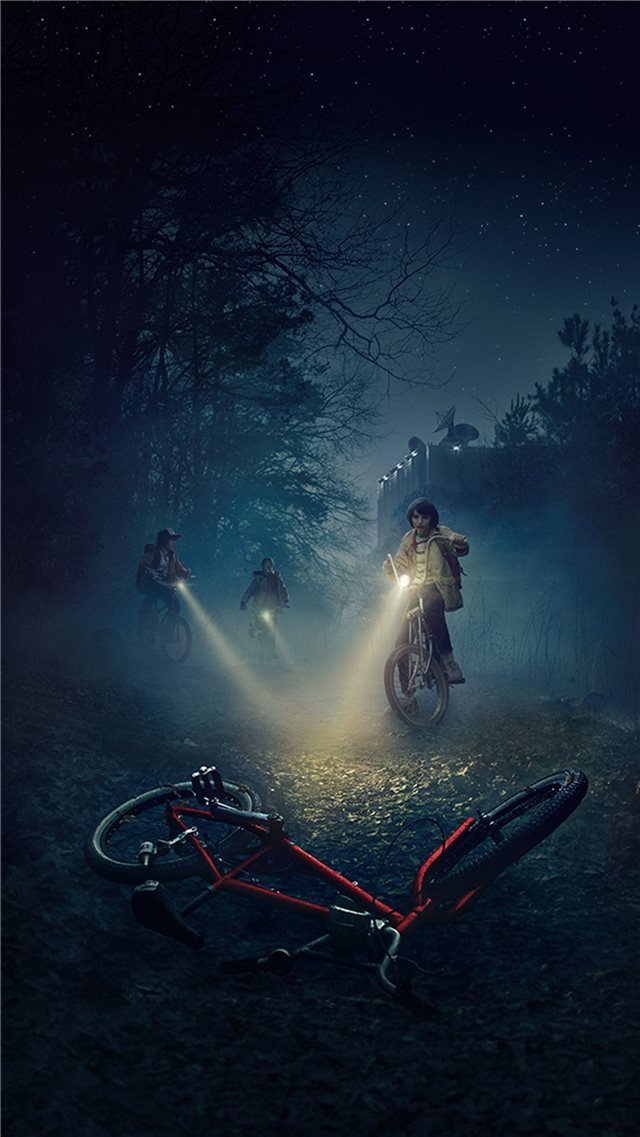 Stranger Things Aesthetic Top Free Stranger Things... iPhone SE wallpaper