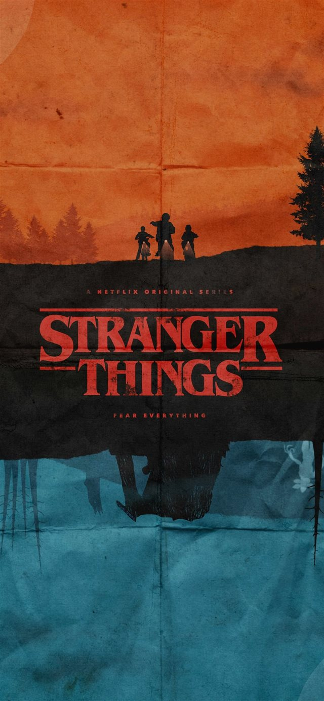Stranger Things Top Free Stranger Things Wallpaper... iPhone 11 wallpaper