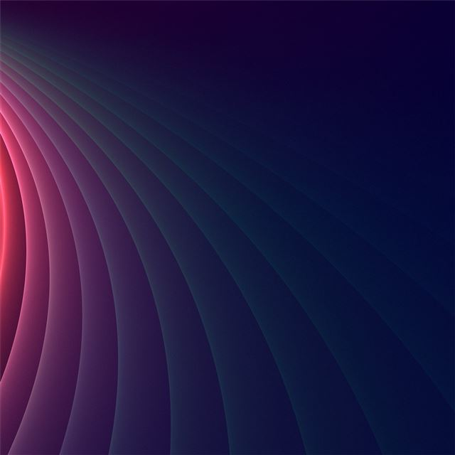 abstract colorful curved glowing 4k iPad Air Wallpaper
