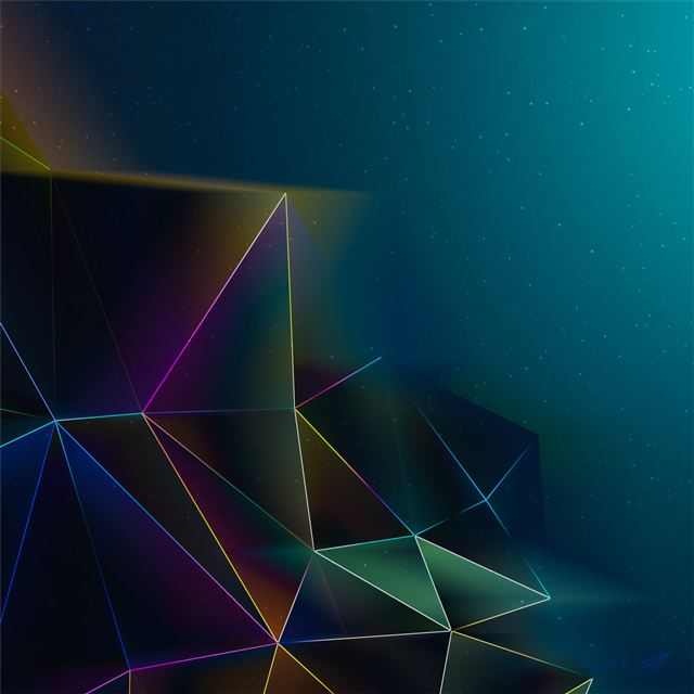 abstract triangles motion 4k iPad Pro wallpaper