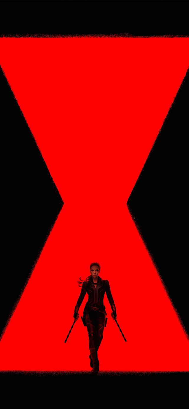black widow movie 2020 iPhone X wallpaper