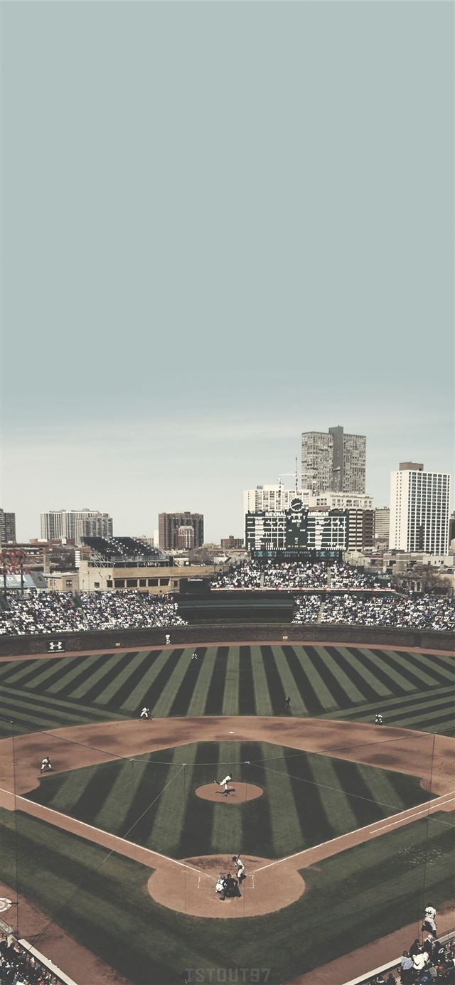Chicago Cubs Wrigley Field Mobile on Behance iPhone 11 wallpaper