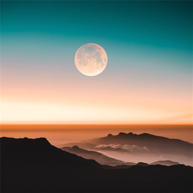 from tops of adams peak iPad Pro wallpaper